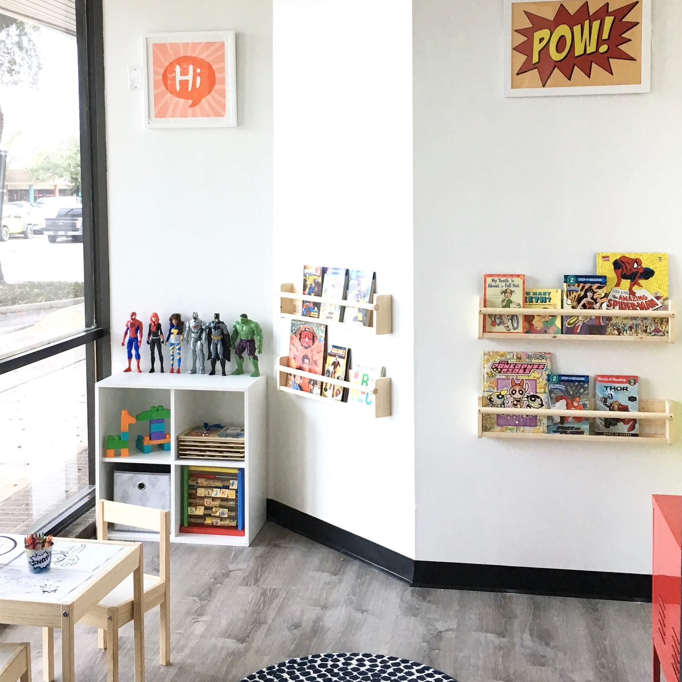 dental office for kids inviting space